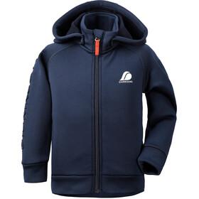 DIDRIKSONS Corin 3 Jacket Kids, blauw